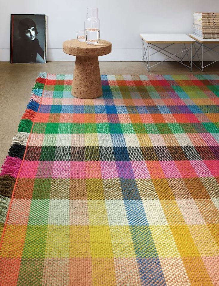 the multitone rug is made in india and features a flat handwoven yarn basket co 9