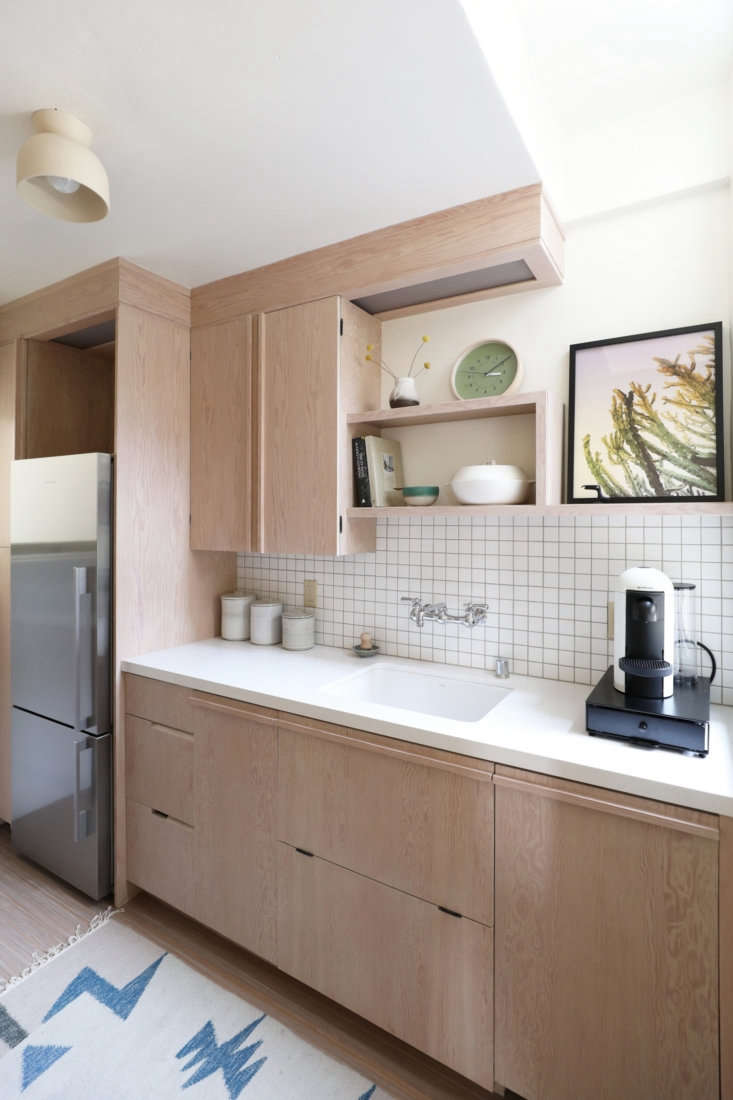 all the cabinetry and built in shelving throughout the unit were based on desig 15