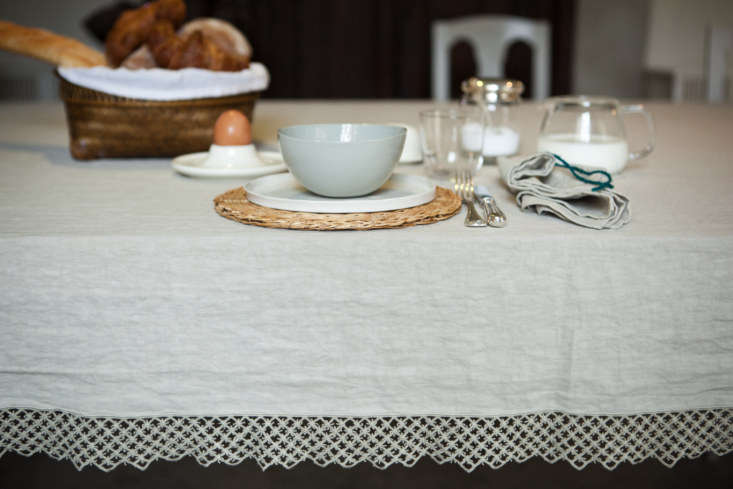 once milano tablecloth macrame