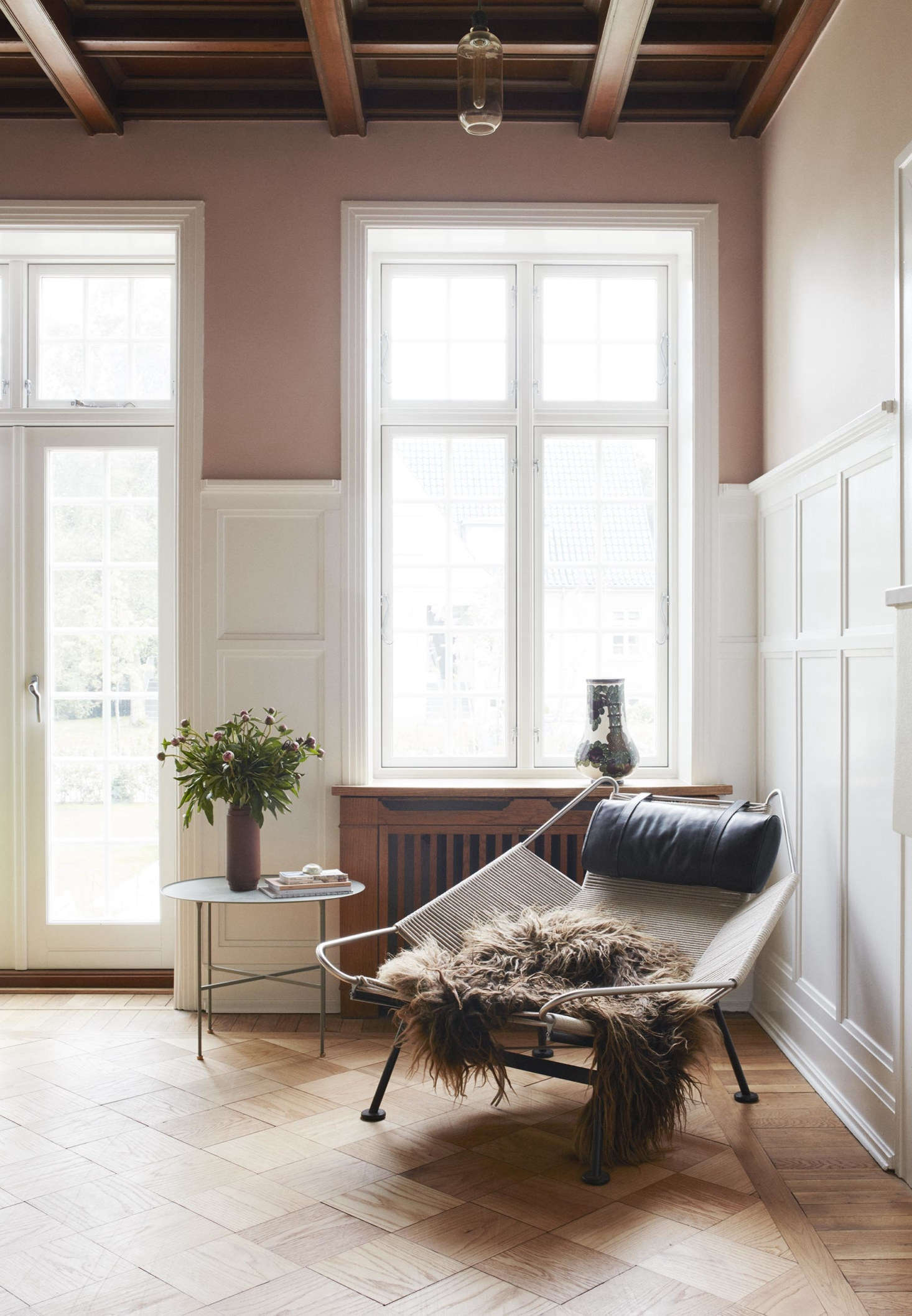 Photo from Little Pink House: A Creative Couple's Classic-with-a-Twist Home in Denmark.