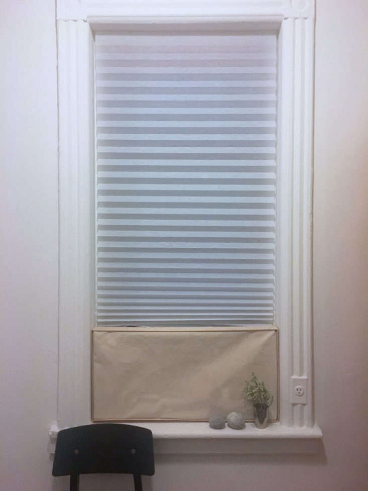 DIY AC Cover In Situ, Photograph by Annie P. Quigley