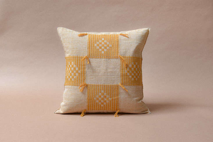 Five | Six also sells pillows, including this cheery Djanangala Pillow; $90 without insert.