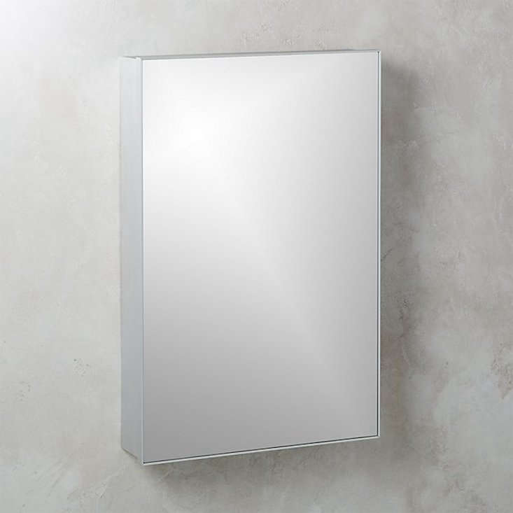 The Infinity Silver Medicine Cabinet is $399 at CB