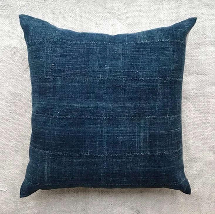 john derian west african indigo pillow
