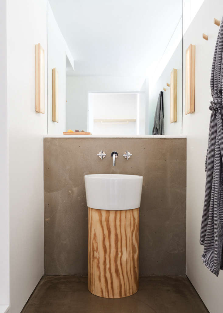 Even the bathrooms have surprising designs.