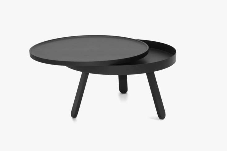 The Woodendot Batea M Coffee Table with Storage comes in eight different color combinations (shown in Black/Black Ash) for £loading=