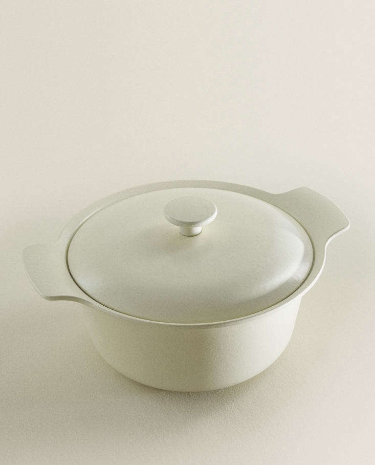 In the French Kitchen with Mimi Thorisson A New Collection from Zara Home Berghoff Cast Iron Pot from Zara Home