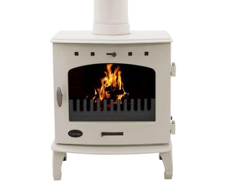 the cream enamel wood burning stove from uk based carron stoves is £9\1\2.50. 14