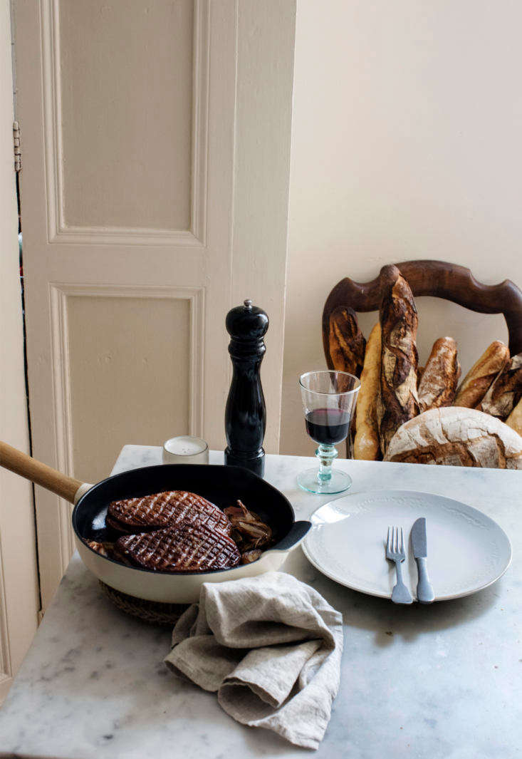 In the French Kitchen with Mimi Thorisson A New Collection from Zara Home A vignette in Thorisson&#8\2\17;s French kitchen, with a Berghoff Pepper Grinder(\$35.90).