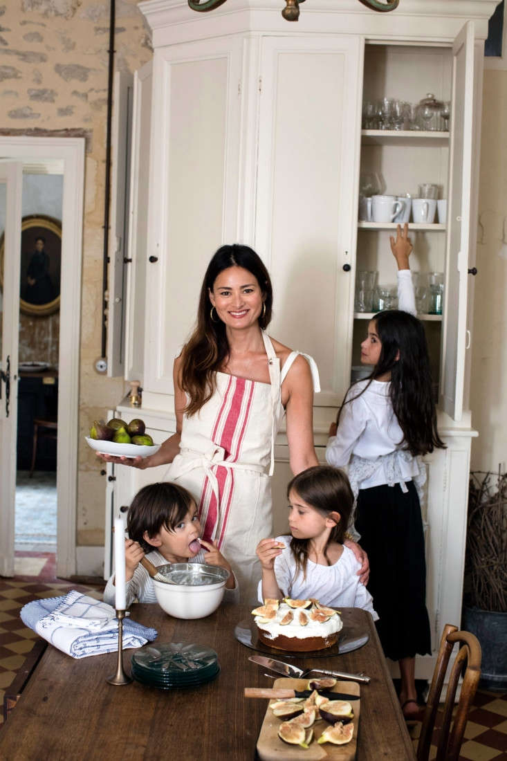 In the French Kitchen with Mimi Thorisson A New Collection from Zara Home Thorisson, a few of her children, and an orange and fig cake. (Get the recipehere.)