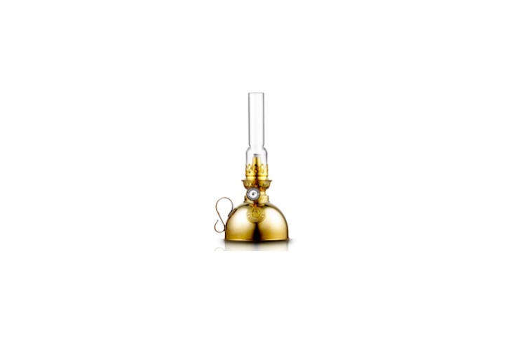 The Nattlampa Kerosene Lamp is modeled on the traditional paraffin lamps of the late th century; $