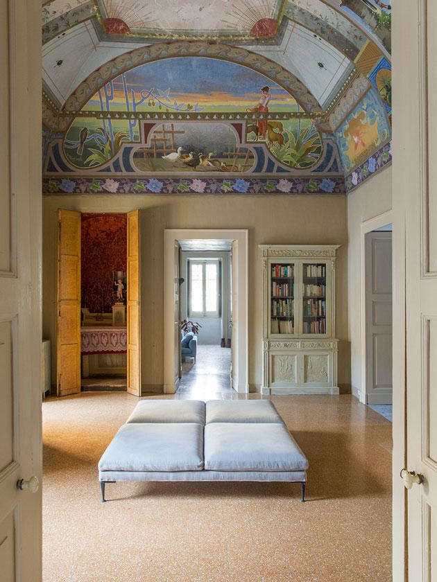 Common Area at Palazzo Daniele in Puglia, Italy