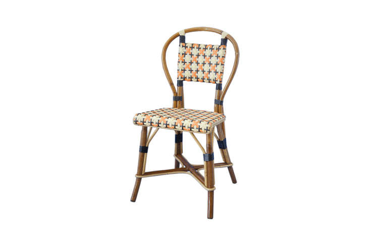 10 Easy Pieces French Rattan Bistro Chairs, French Cafe Outdoor Furniture