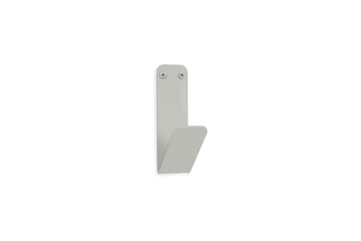 Another style from Room & Board is the Crew Single Wall Hook in  different colors for $ each.
