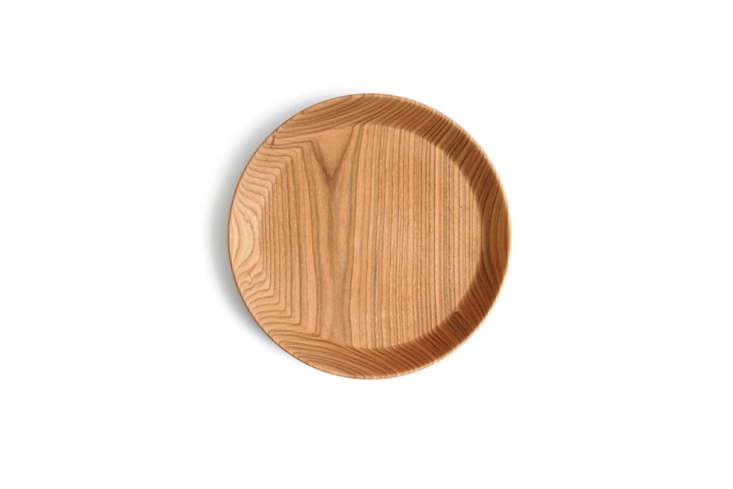 The Ryuji Mitani Round Rimmed Plate is made inMatsumoto, Japan and can be used as a plate or small tray; $0 at Nalata Nalata.