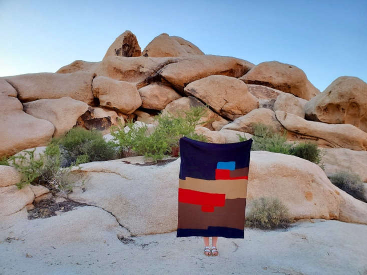 all roads, a metal and fiber arts collective in the mojave desert, makes hand w 12