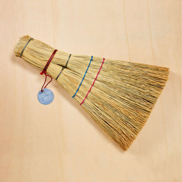 The Barca Straw Whisk Broom is made from dried sorghum; $loading=