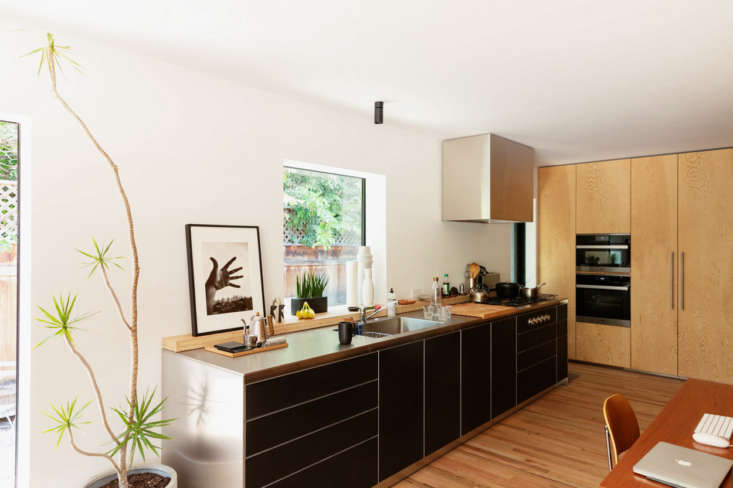 Yanai chose compact appliances: there&#8
