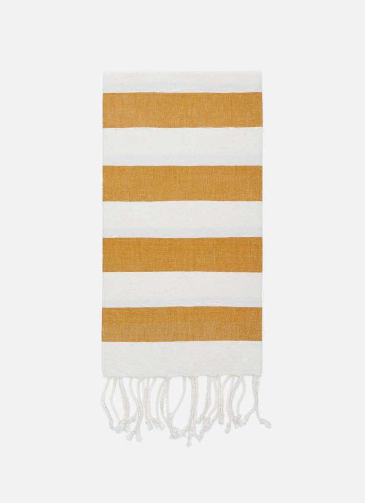 heather taylor home milos goldenrod hand towel