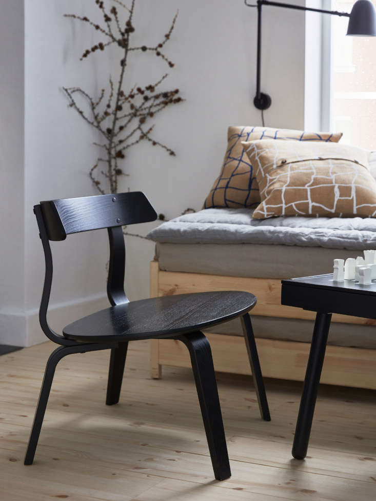a chair sized to fit an adult plus child; \$99. 12