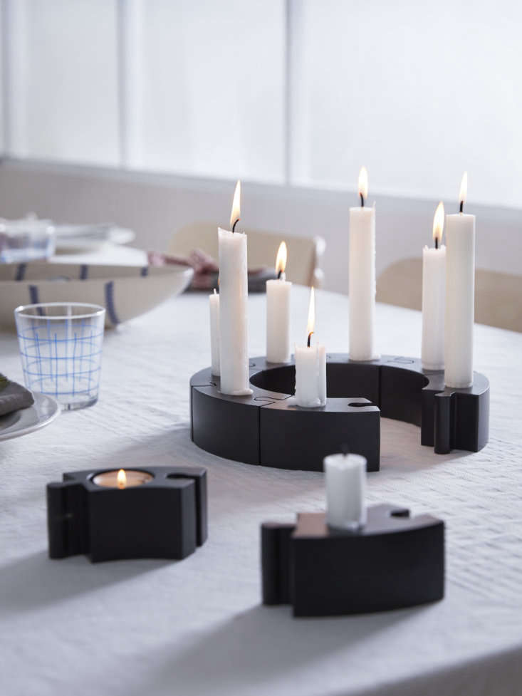 you can buy the powder coated aluminum candle holders individually (\$4.99 each 16