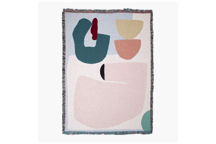 slowdown studio currently carries \16 artist designed blankets. this one, the a 15