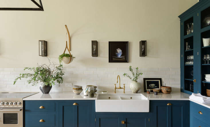 forming a low backsplash are devol&#8\2\17;s crackle metro tiles. the count 10