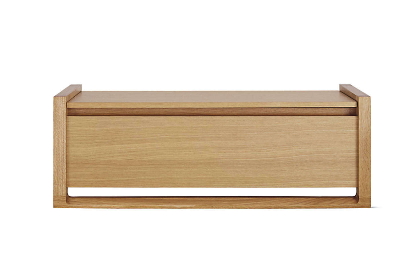 Designed by Sean Yoo for Design Within Reach, the Matera Storage Bench is available in oak and walnut and in sizes small and large; $995 to $src=