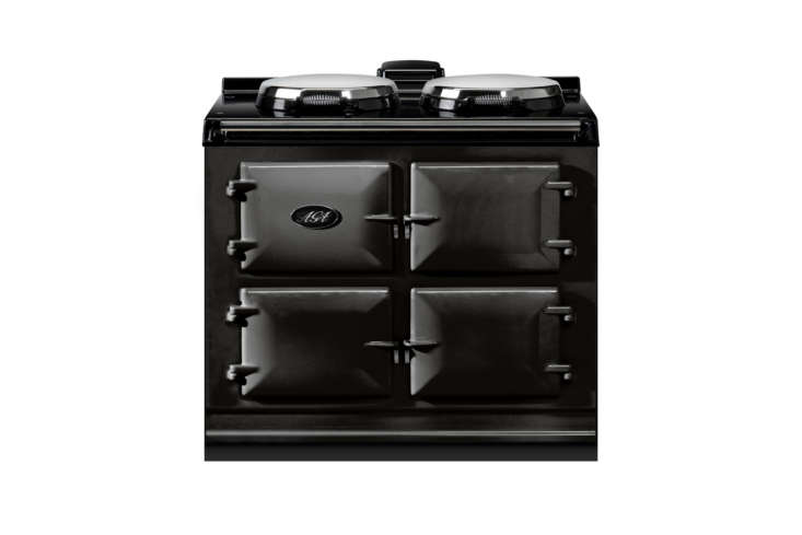 The Black 39-Inch Freestanding Dual Fuel Cooker