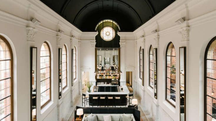 august hotel interiors antwerp belgium vincent van duysen