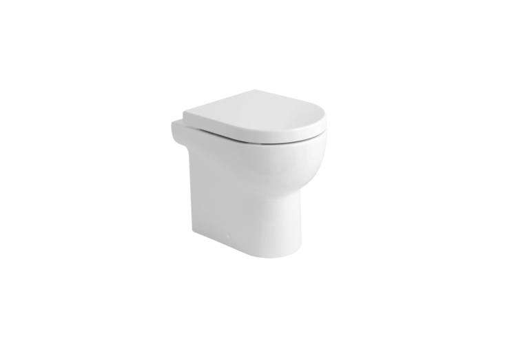 Italian designers Azzurra have three models of toilets like the Nuvola Vaso Mini, shown here. Available at Azzurra in Italy.