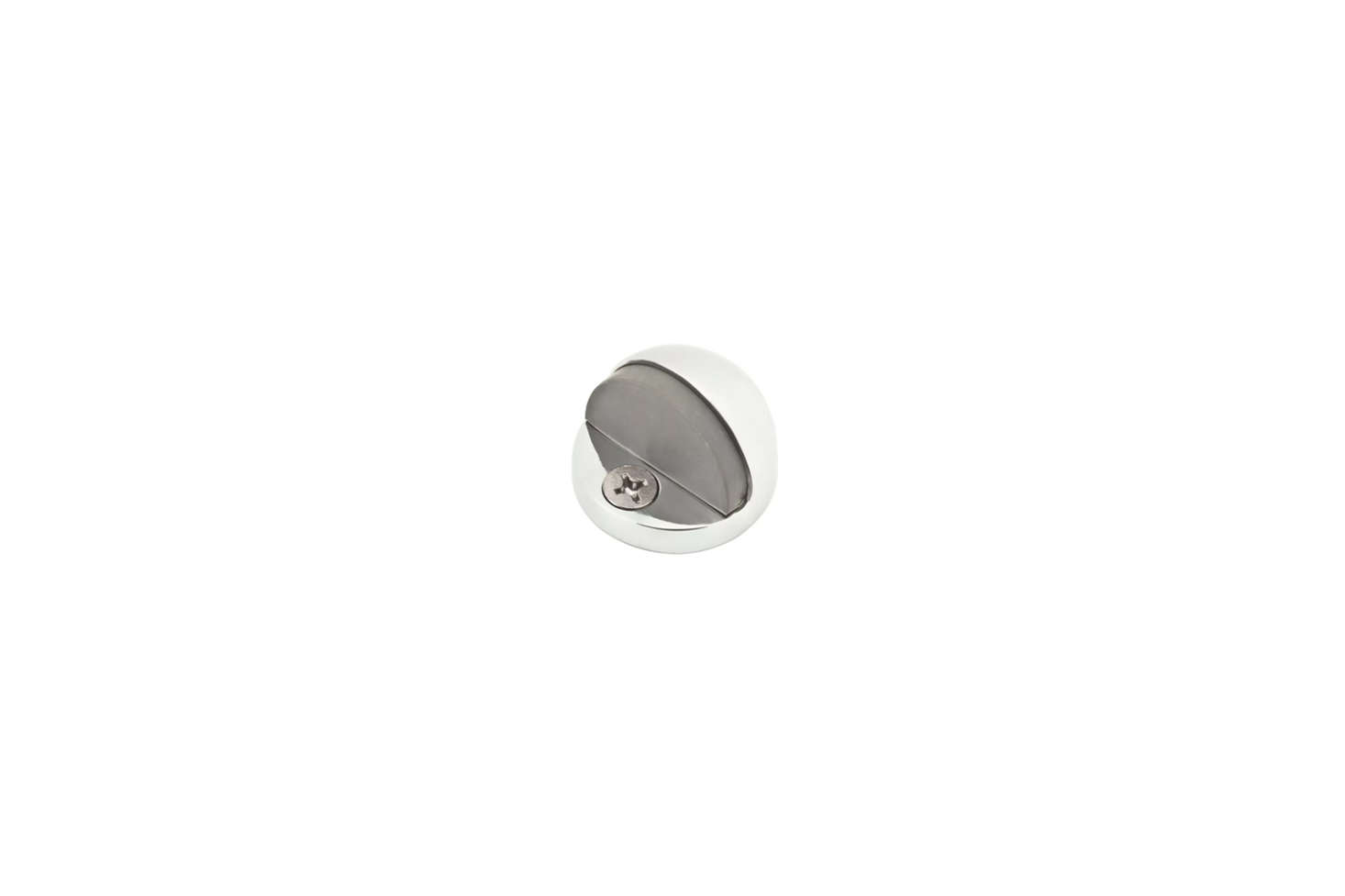 The Baldwin Door Stop (9BR7008003), shown in Polished Chrome, is $8.46 at Build.com.