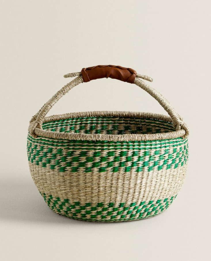 basket with handle zara home 10