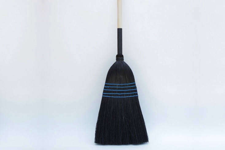 we like this bewitching black and blue broom from nicky kehoe; \$65. 20