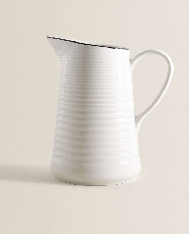 earthenware pitcher at zara home 14