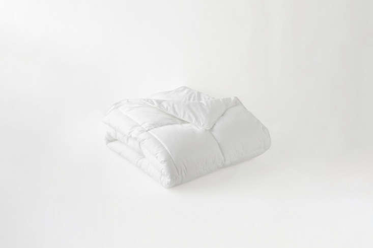 The Garnet Hill Signature Down-Alternative All-Season Comforter is $9 to $9.