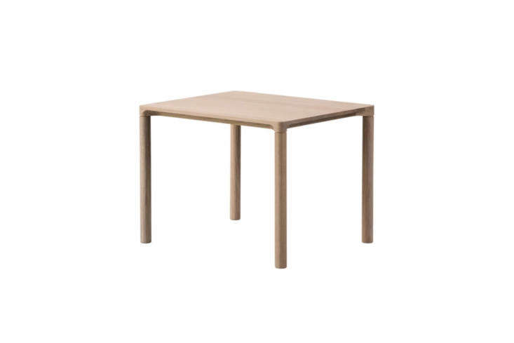Designed by Hugo Passos for Fredericia Furniture, the Medium Piloti Table is made of oak and available in different treatments from soap-treated (shown) to smoked and oiled or lacquered; $5.50 at Danish Design Store.