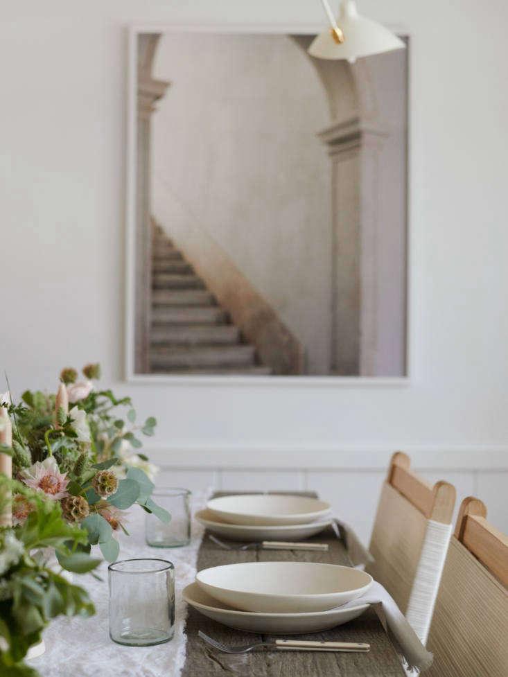 Dining Room in Jenni Kayne Lake House, Photo by Tessa Neustadt