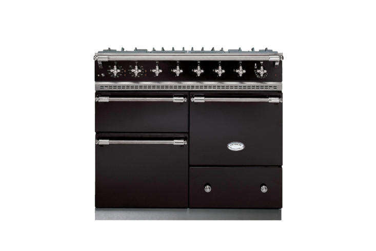 The LaCanche Macon Classic Range Cooker, shown in black, is £4,670 at La Canche.