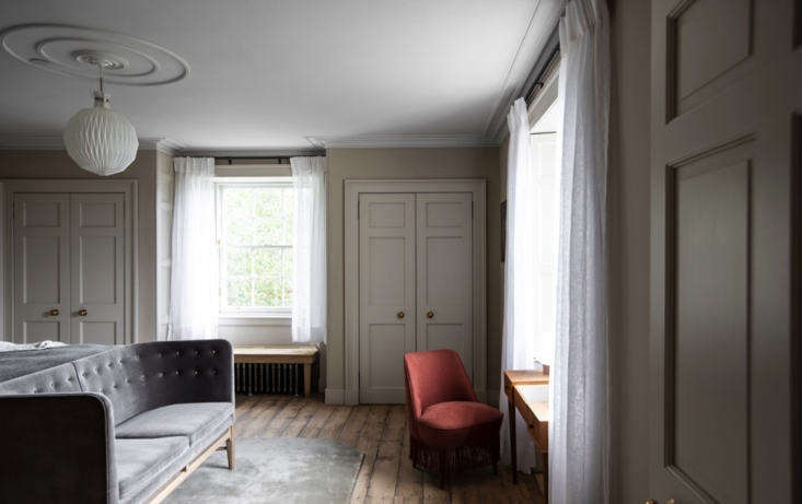 The Shona room is a corner unit with ample light.