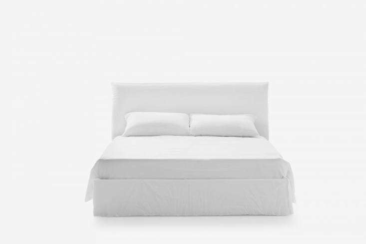 paola navone&#8\2\17;s ghost bed comes in several upholstery options (cotto 15