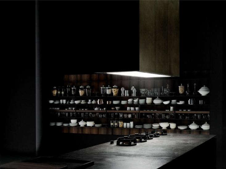 Pitt burners in a Boffi Code kitchen.