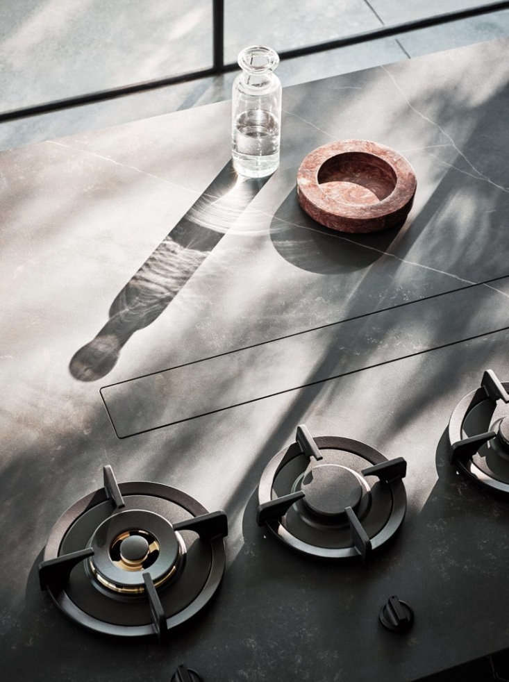 Pitt burners in a Cesar NYC kitchen.