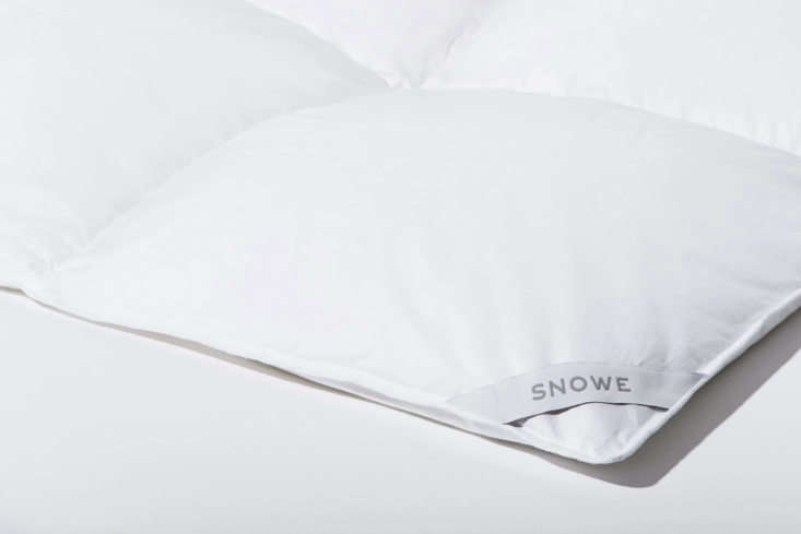 The Snowe Down Alternative Comforter is made with allergen-free OEKO-TEX certified microfiber. Available in lightweight ($98 to $loading=