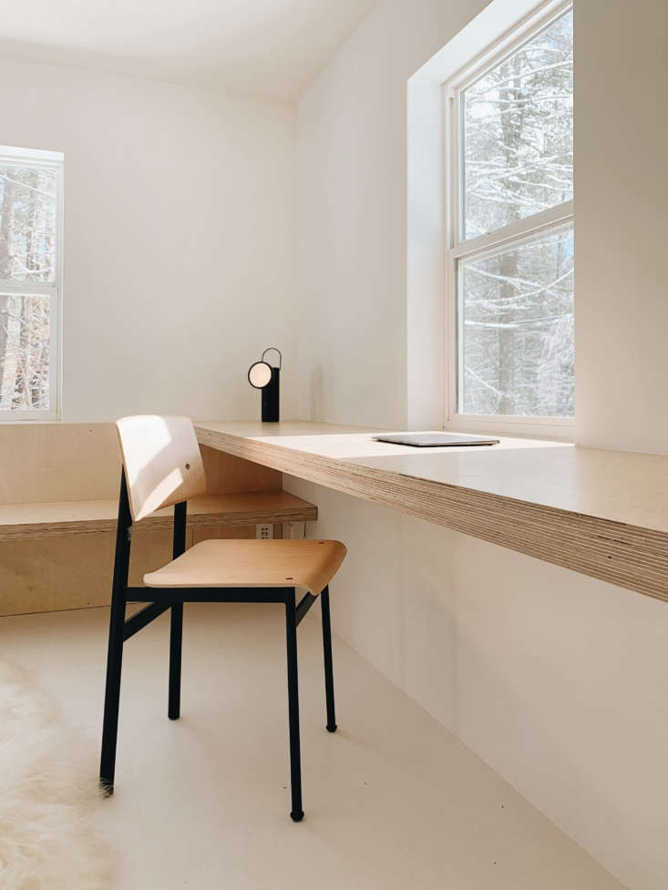 bring work with you: the room has a built in desk and a muutoloft chair—for 21