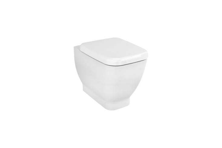 The Vitra Shift Floor Mounted Single WC Pan without Bidet Pipe is designed by German industrial design duo Noa. Available at Vitra.