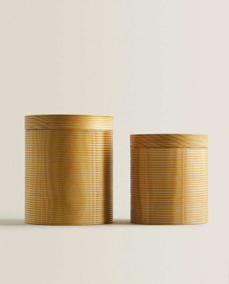 wooden box with raised design at zara home 25