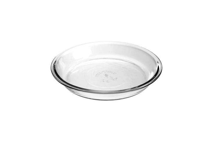 the affordable glass pie dish set fromanchor hocking is made of high quality  16