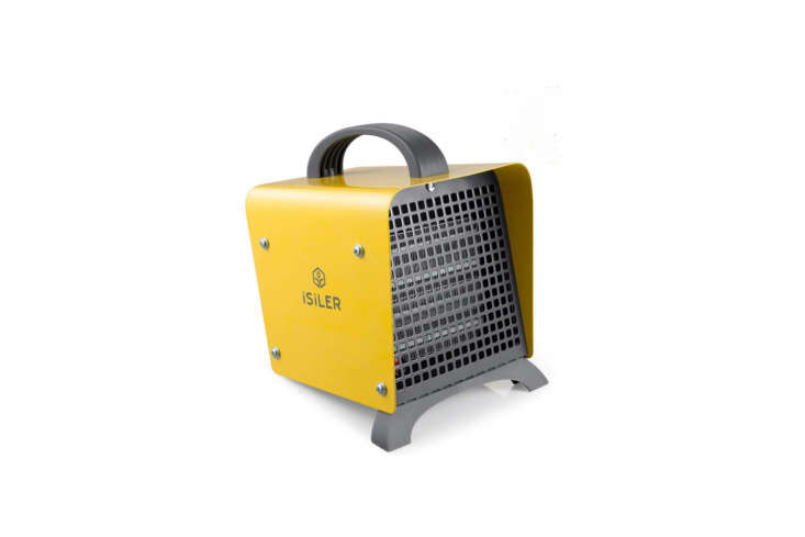 the isiler portable indoor ceramic space heater has a quiet design and a temper 12