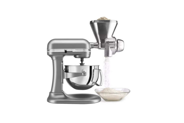 compatible with all kitchenaid stand mixers, the kitchenaid grain mill attachme 18